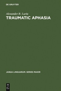 Cover Traumatic Aphasia