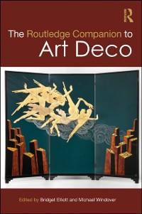 Cover Routledge Companion to Art Deco