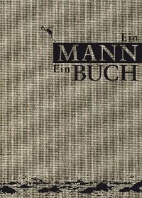Cover Ein Mann. Ein Buch