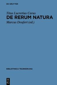 Cover De rerum natura
