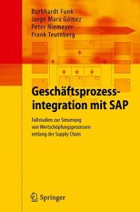 Cover Geschäftsprozessintegration mit SAP