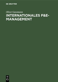 Cover Internationales F&E-Management
