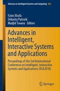 Cover Advances in Intelligent, Interactive Systems and Applications