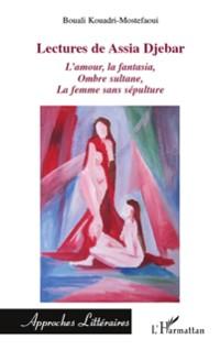Cover Lectures de Assia Djebar