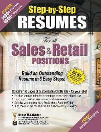 Cover STEP-BY-STEP RESUMES For all Sales & Retail Positions
