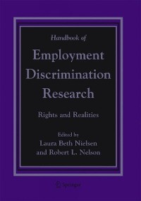Cover Handbook of Employment Discrimination Research