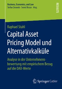 Cover Capital Asset Pricing Model und Alternativkalküle