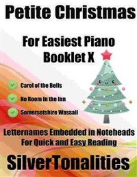 Cover Petite Christmas for Easiest Piano Booklet X