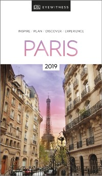 Cover DK Eyewitness Travel Guide Paris