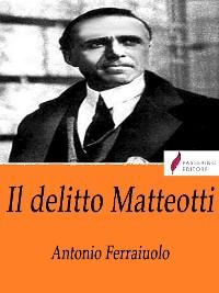Cover Il delitto Matteotti
