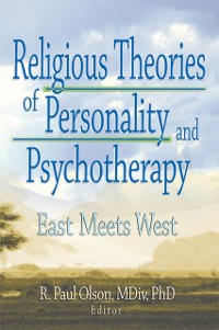 Cover Religious Theories of Personality and Psychotherapy