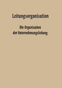 Cover Leitungsorganisation