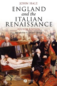 Cover England and the Italian Renaissance