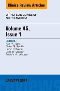 Cover Volume 45, Issue 1, An Issue of Orthopedic Clinics, E-Book