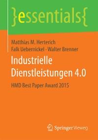 Cover Industrielle Dienstleistungen 4.0