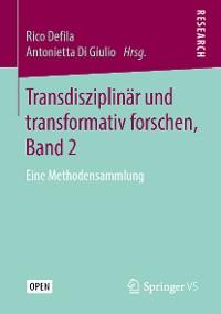 Cover Transdisziplinär und transformativ forschen, Band 2