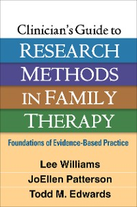 Cover Clinician's Guide to Research Methods in Family Therapy