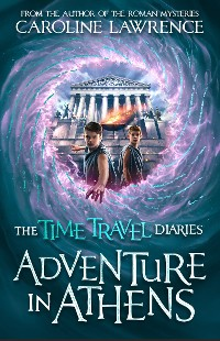 Cover Time Travel Diaries: Adventure in Athens