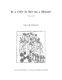 Cover If a City Is Set on a Height, Volume 3