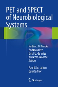 Cover PET and SPECT of Neurobiological Systems