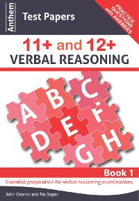 Cover Anthem Test Papers 11+ and 12+ Verbal Reasoning Book 1