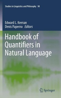 Cover Handbook of Quantifiers in Natural Language