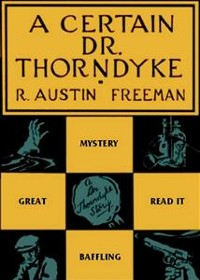 Cover A Certain Dr. Thorndyke