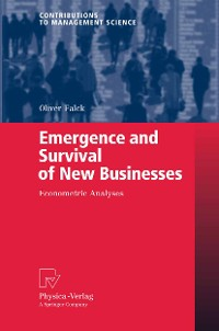 Cover Emergence and Survival of New Businesses