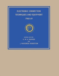 Cover Electronic Connection Techniques and Equipment 1968-69