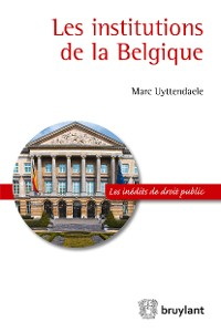 Cover Les institutions de la Belgique