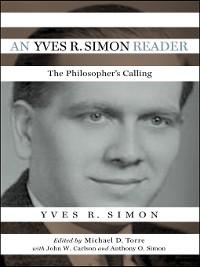 Cover An Yves R. Simon Reader