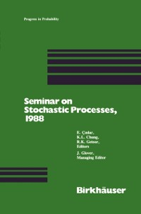 Cover Seminar on Stochastic Processes, 1988