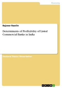 Cover Determinants of Profitability of Listed Commercial Banks in India