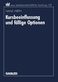 Cover Kursbeeinflussung und fallige Optionen