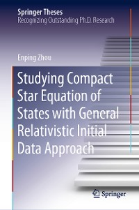 Cover Studying Compact Star Equation of States with General Relativistic Initial Data Approach