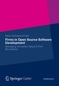 Cover Firms in Open Source Software Development