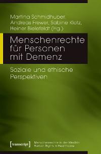 Cover Menschenrechte für Personen mit Demenz