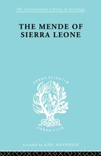 Cover Mende Of Sierra Leone   Ils 65