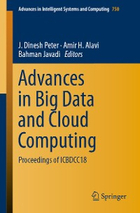 Cover Advances in Big Data and Cloud Computing
