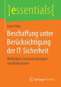 Cover Beschaffung unter Berücksichtigung der IT-Sicherheit