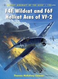 Cover F4F Wildcat and F6F Hellcat Aces of VF-2