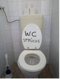 Cover WC Sprüche