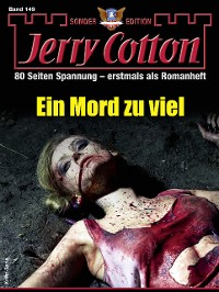 Cover Jerry Cotton Sonder-Edition 149 - Krimi-Serie