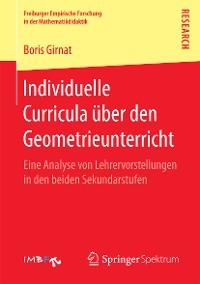 Cover Individuelle Curricula über den Geometrieunterricht