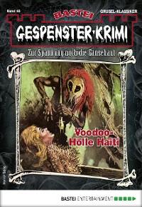 Cover Gespenster-Krimi 48 - Horror-Serie