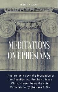 Cover Meditations On Ephesians