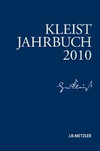 Cover Kleist-Jahrbuch 2010