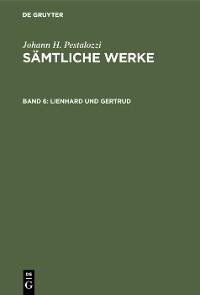 Cover Lienhard und Gertrud