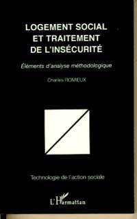 Cover Logement social et traitement de l'insecurite