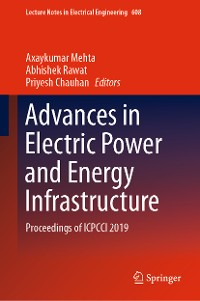 Cover Advances in Electric Power and Energy Infrastructure
